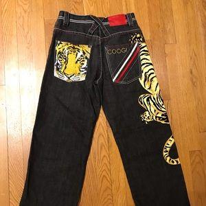 Vintage Coogi Australia Jeans Tiger Sz boys 12